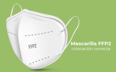 Cómo ponerse las mascarillas FFP2 para que sean efectivas